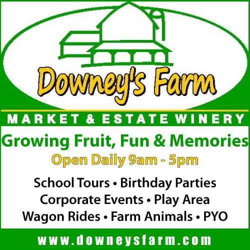 Downeys Farm ad