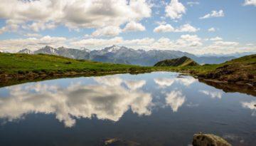Lake Sky Mountains