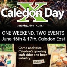 Caledon Day ad