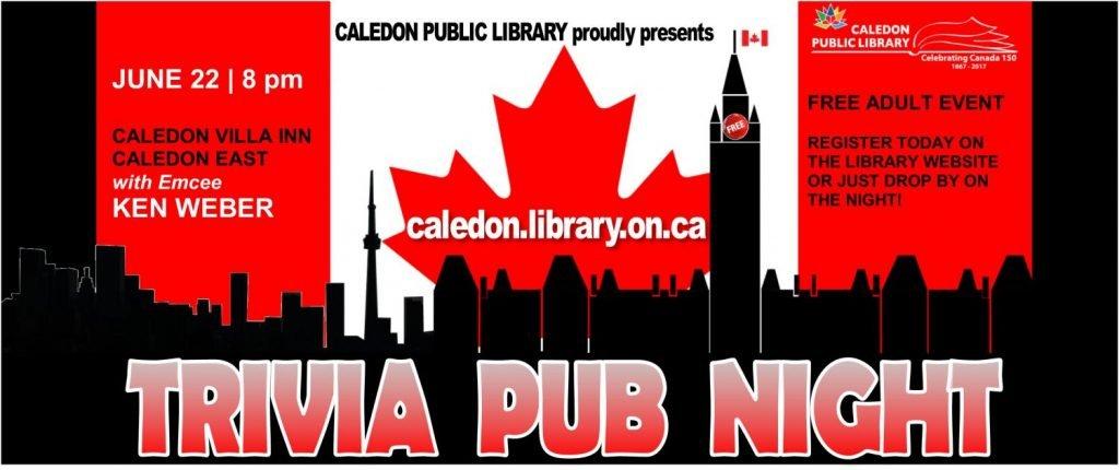 Canada 150 Trivia Night
